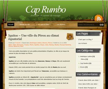 Cap Rumbo Blog