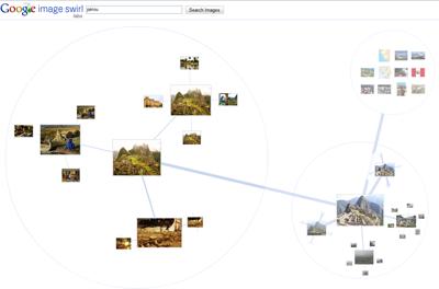 Google Image Swirl zones