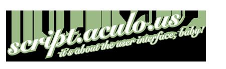 Logo Scriptaculous