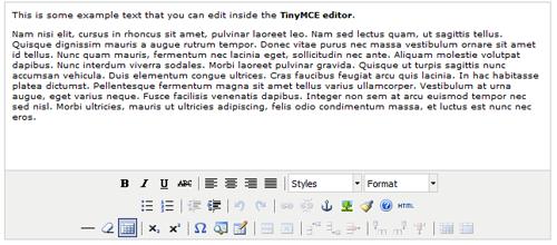 tinymce3