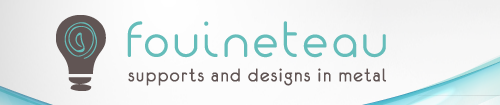 fouineteau supports and-designs-in-metal