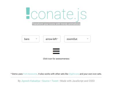 iconate-js-javascript-css3