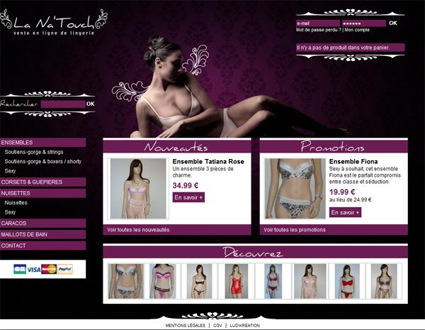 Le site La Na'Touch