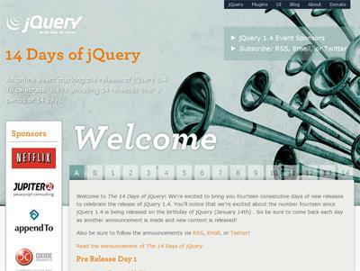 JQuery 1.4 event - le site web