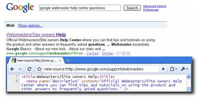 Meta et Google