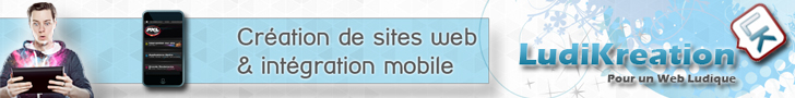 Création de site web et intégration mobile avec Ludikreation