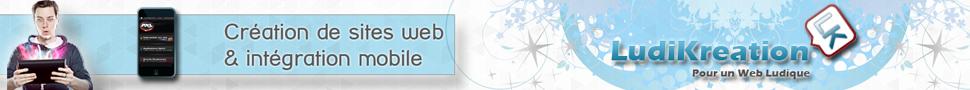 Référencement, création de site web et intégration mobile avec Ludikreation