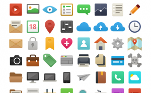 Free – Utile – Petite sélection d'icones gratuits