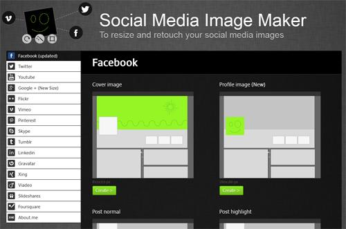 Créez, redimensionnez et retouchez vos images pour les réseaux sociaux