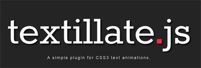 textillate-js-plugin-jquery